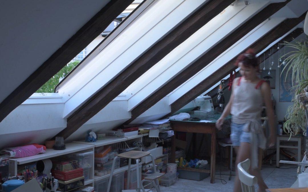 Stilsko uređeno potkrovlje s prirodnom dnevnom svjetlošću balerine Mirne Sporiš