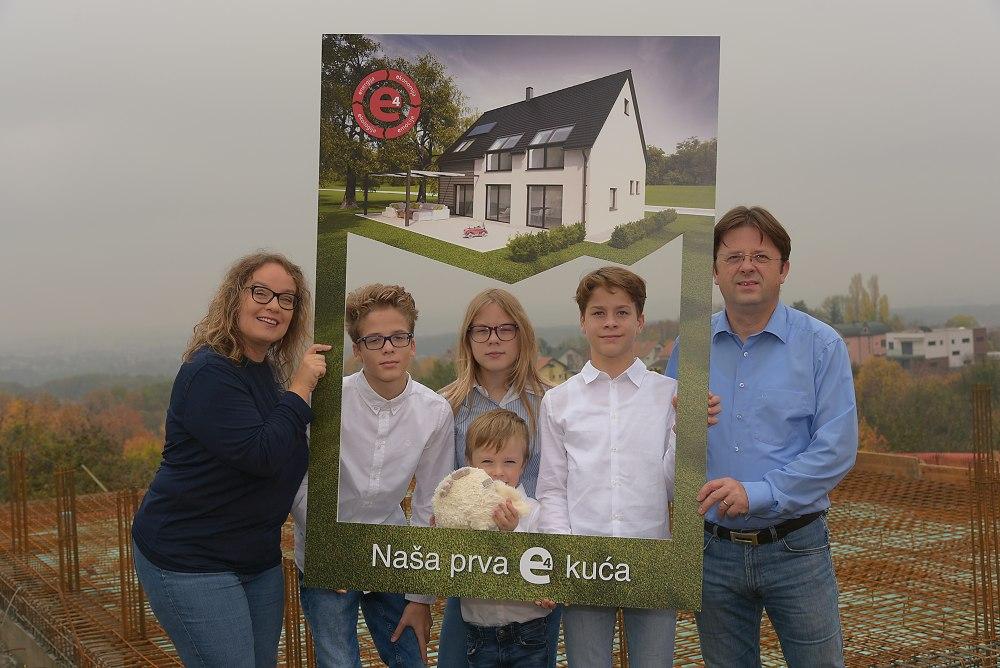 Prva e4 kuća u Hrvatskoj – počinje gradnja