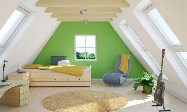Soba za mlade – svijetla i vedra s Velux rješenjima