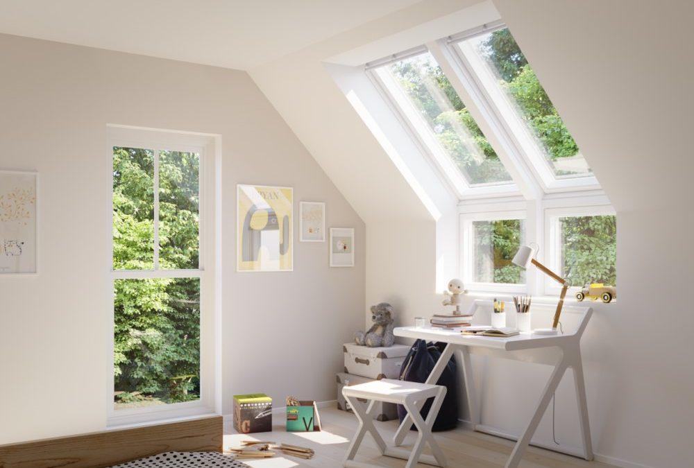 Vertikalni elementi ispod krovnih prozora