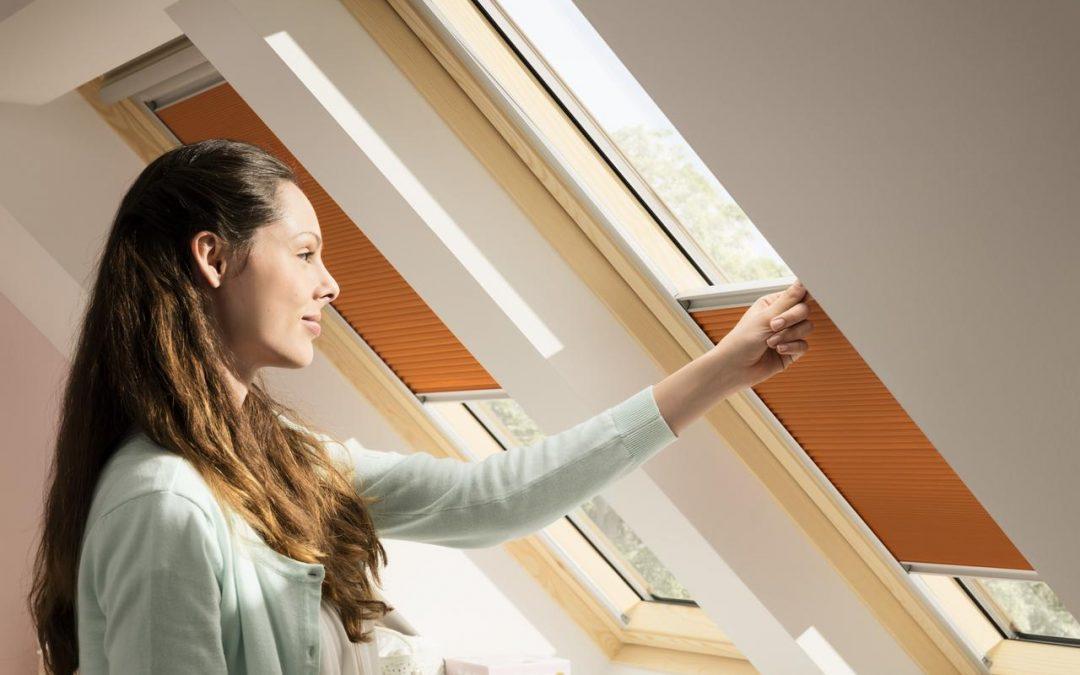Energetsko sjenilo za krovni prozor koje štiti od ljetnog pregrijavanja