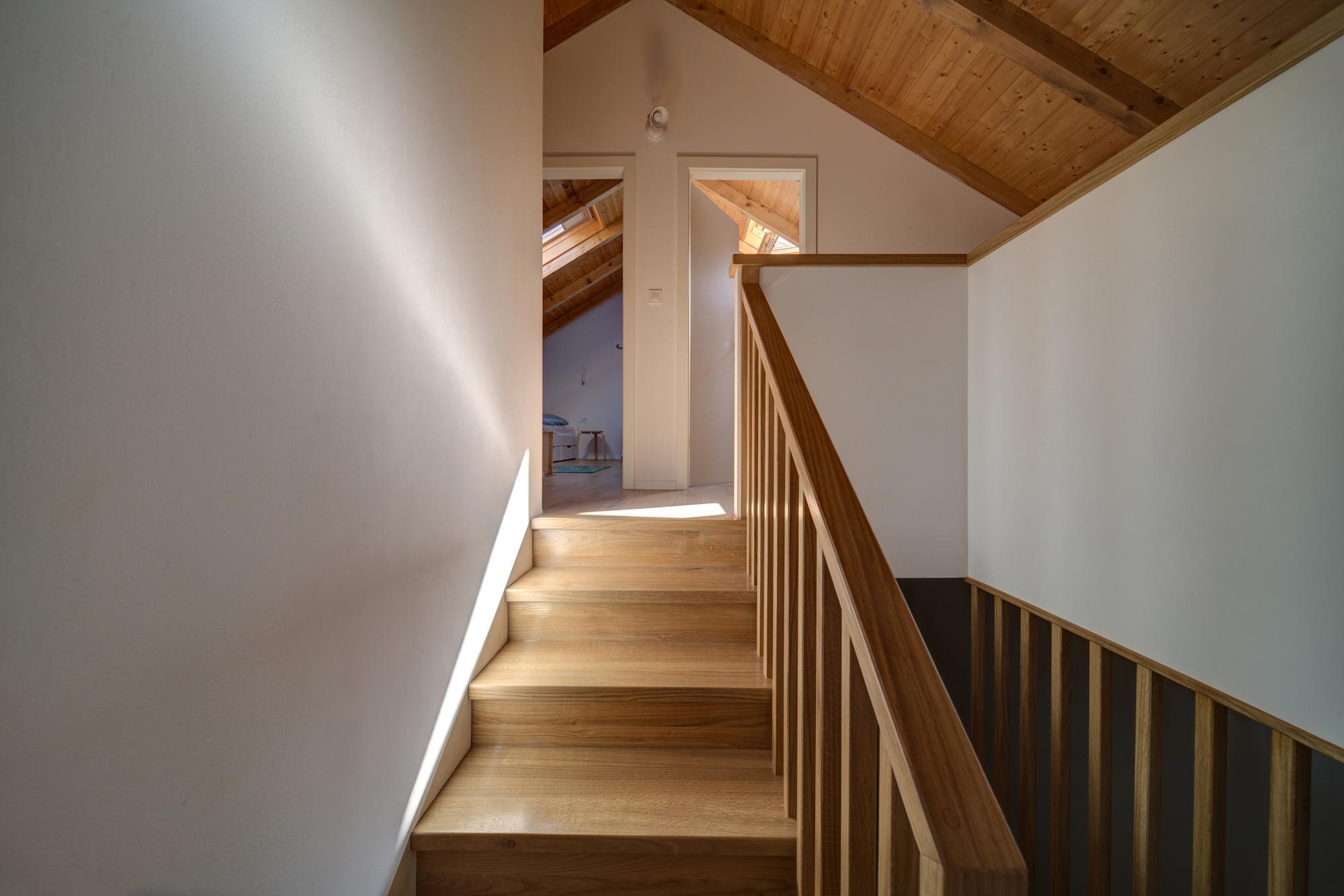 Potkrovlje obiteljske kuće arhitektice Ane Bosnić