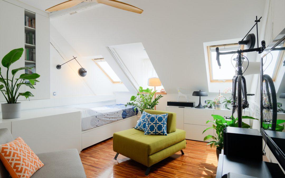 Transformacija minijaturnog potkrovlja u stambeni prostor